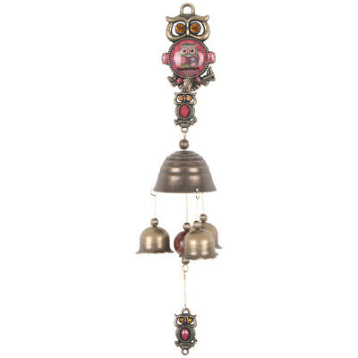 Vintage Antique Style Shopkeepers Door Bell Store Entry Door Chime (Owl)