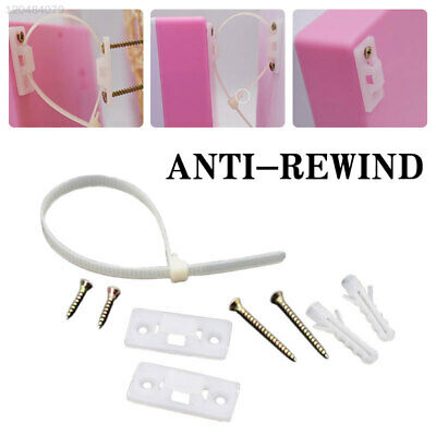 Detachable ABS Anti-Rewind Furniture Anti-Tip Tool Latches Cabinet Locks Safety