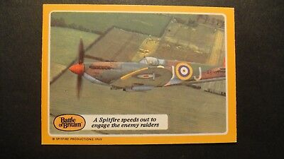 A&BC GUM THE BATTLE OF BRITAIN No30 RAF LUFTWAFFE SPITFIRES HURRICANE ME109