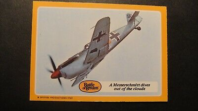 A&BC GUM THE BATTLE OF BRITAIN No22 RAF LUFTWAFFE SPITFIRES HURRICANE ME109