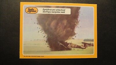 A&BC GUM THE BATTLE OF BRITAIN No14 RAF LUFTWAFFE SPITFIRES HURRICANE ME109