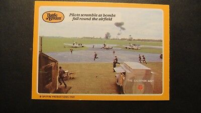 A&BC GUM THE BATTLE OF BRITAIN No35 RAF LUFTWAFFE SPITFIRES HURRICANE ME109