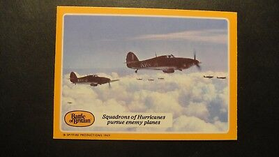 A&BC GUM THE BATTLE OF BRITAIN No32 RAF LUFTWAFFE SPITFIRES HURRICANE ME109