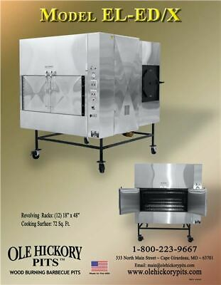 Ole Hickory EL-ED/X Commercial Smokers - Left and Right Fire Boxes
