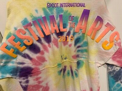 Disney EPCOT Festival of the Arts Figment Spirit Jersey Tee L WDW Large Parks