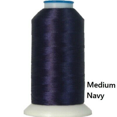 Machine Embroidery Thread Polyester NAVY BLUE and BLUES