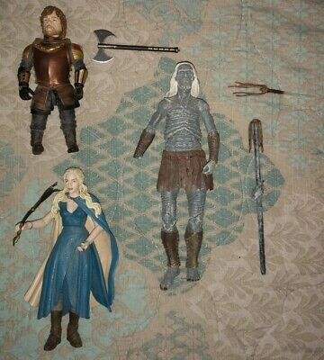 Game Of Thrones GoT Action Figure Toy Lot Daenerys Whitewalker Tyrion