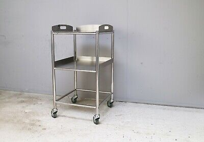Surgical stainless steel office / medical / kitchen trolley