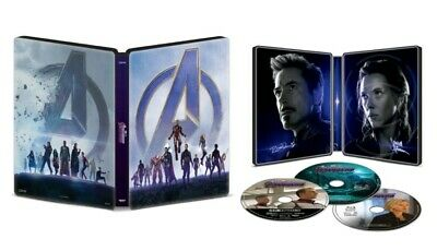 Marvel Avengers Endgame Steelbook (4K UHD / Bluray / Digital) SEALED