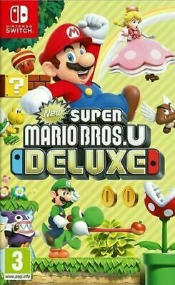 Switch Super Mario Bros U Deluxe Neuf