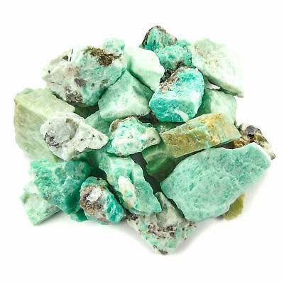 Bulk Wholesale Lot 1 LB - Amazonite - One Pound Rough Raw Stones Natural