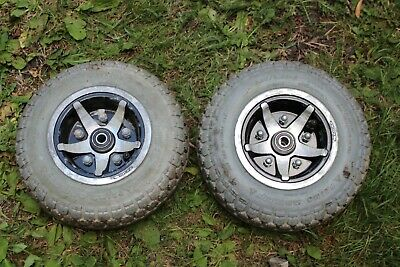 Pride Celebrity XL8 Front Wheels & Tyres 4.10/3.50-6 Mobility Scooter parts