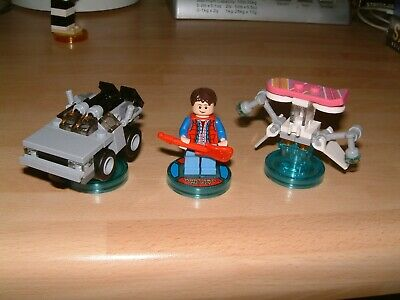 Back To The Future .... Lego Dimensions Level Pack Xbox One 360 Ps3 Ps4 Wii U