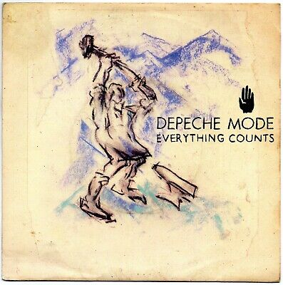 """Depeche Mode - Everything Counts  (7"""" Single 1983)"""