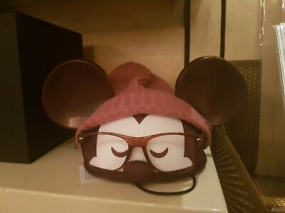 Disney Parks Designer Collection Hipster Mickey Ear Hat by Jerrod Maruyama