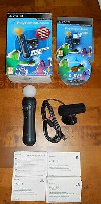 Genuine Official Sony Playstation Ps3 Ps4 Move Starter Pack In Vgwc