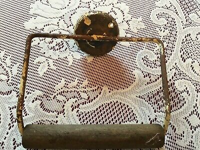 older than dirt ANTIQUE VINTAGE TOILET PAPER ROLL HOLDER rustic FREE shipping