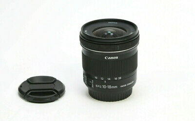 Canon EF-S 10-18mm f/4.5-5.6 IS STM Lens - Great Condition!