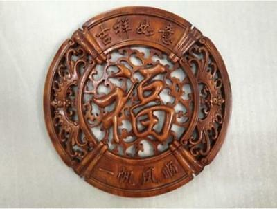 Hand-Carved ASIAN Camphor Wood Trinket Jewelry Chinese Box Lily /& Rose
