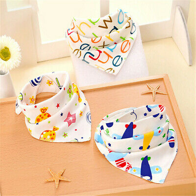 Boys Bandana Accessories Triangle Scarf Saliva Towel Infant Feeding  Baby Bibs