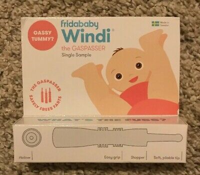 Fridababy Windi The Gaspasser Baby Colic & Gas Relief 1 Count Travel/Sample New