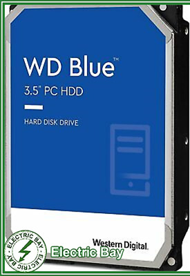 "WD Blue 3.5"" 1TB SATA Desktop Internal Hard Drive HDD 7200RPM Western Digital"