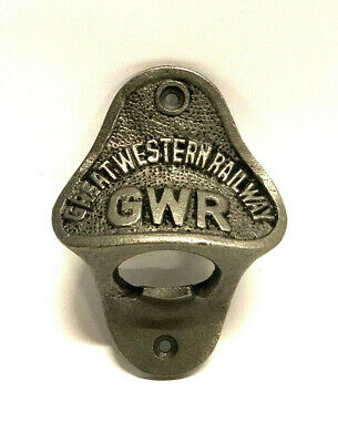 Fantastic Cast Iron GWR Great Western Railway Bottle Opener ~ Pub ~ Bar ~ Decor