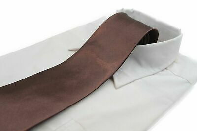 *CHEAP* 10CM BROWN TIE Necktie Neck Skinny Ties Formal Wedding Races