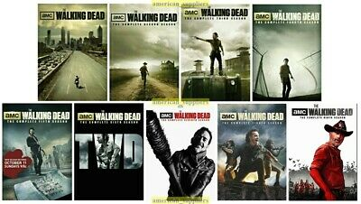 The Walking Dead Complete Series Season 1 2 3 4 5 6 7 8 9 New Sealed DVD Set 1-9