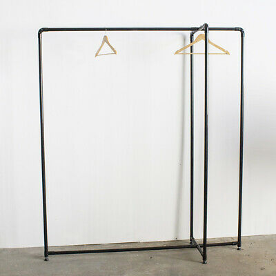Industrial Lean Pipe Clothing Shop Garment Rack Commercial Display LR024
