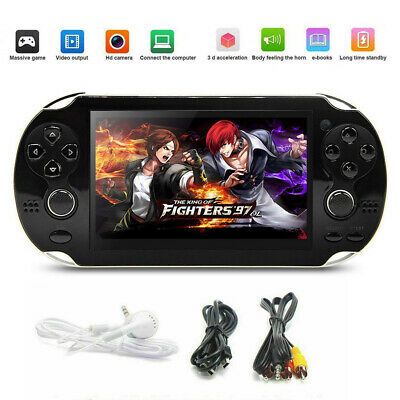 "New 5.0"" 128 Bit Handheld Video Game Built-In 1000 Games Console Portable Player"