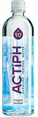 ActiPH Water Alkaline Ionised Water 1Ltr (Pack of 12)