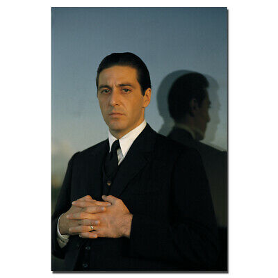 Al Pacino In The Godfather Poster Canvas Painting Wall Art Decoration 24X36inch