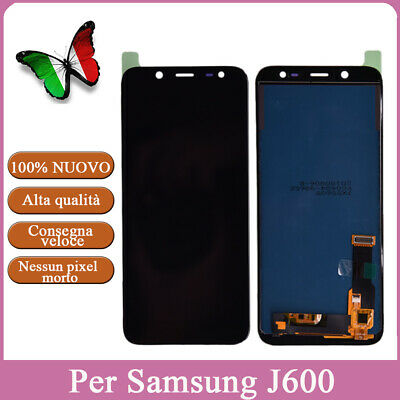 Display Lcd Touch Screen Per Samsung Galaxy J6 J600 2018 Schermo Vetro Digitizer