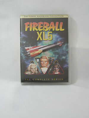 FIREBALL XL5 COMPLETE SERIES. 5 DVD Set. Gerry Anderson Collection. TV Show. NEW