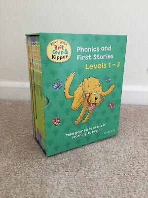 Read With Biff, Chip And Kipper Phonics And First Stories Levels 1-3