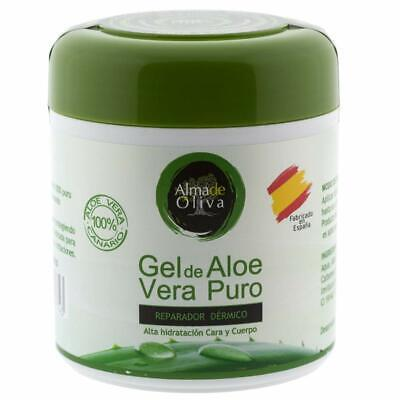 Gel Aloe vera puro 100% de Canarias hidratante natural 500 ml