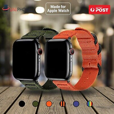 For Apple Watch iWatch Nylon Band strap bracelet 38 42 40 44mm Series 1 2 3 4 5