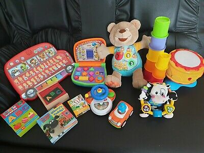 Baby Toys Bundle Vtech,Little takes, Fisher Price, Grow Play, Leap Frog, Chicco