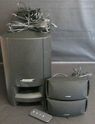 Bose Cinemate Series 2 Digital Home Theatre Speaker System With Remote