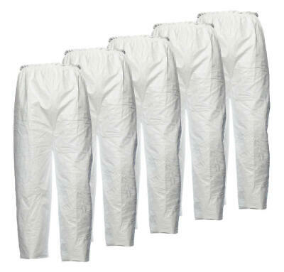 DuPont Tyvek Disposable Trouser Work Pants Protective Workwear White