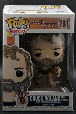 Funko Pop! Movies #791 Cast Away - Chuck Noland with Wilson *New Release*