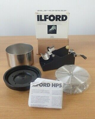 ILFORD HP5-AUTOWINDER Including Stainless Steel Spool + Tank