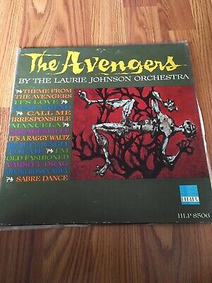 LAURIE JOHNSON ORCHESTRA - The Avengers (TV Show) 45 RPM