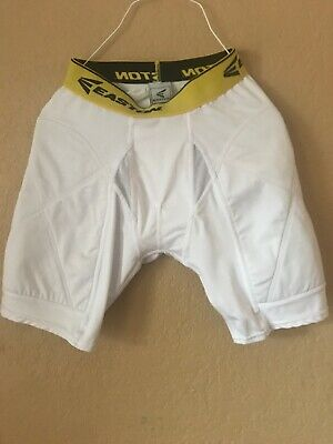 R44 Softball Padded NWT McDavid Men/'s 721T Sliding Shorts White Baseball