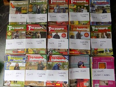 Treasure Hunting Magazine ( bundles of 6 ) all in excellent condition.