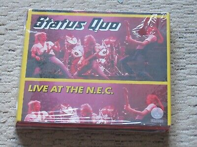 NEW/SEALED 2 CD STATUS QUO Live at the N.E.C. deluxe edition (in concert 1982)