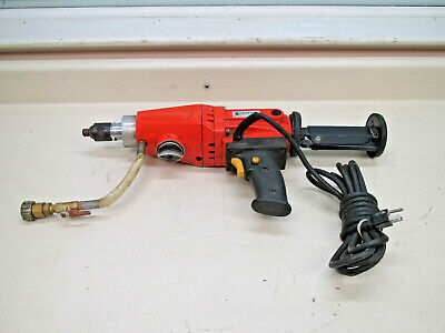Diamond Products CB500 Hand Held Core Drill w/ Water Hookup Used