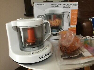 Baby Brezza Food Maker Machine  - One Step Steamer Blender Puree