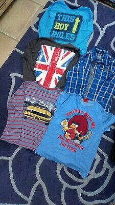 Clothes bundle for boys, aged 5-7 Including a John Lewis item.